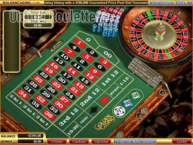 golden online casino play roulette now