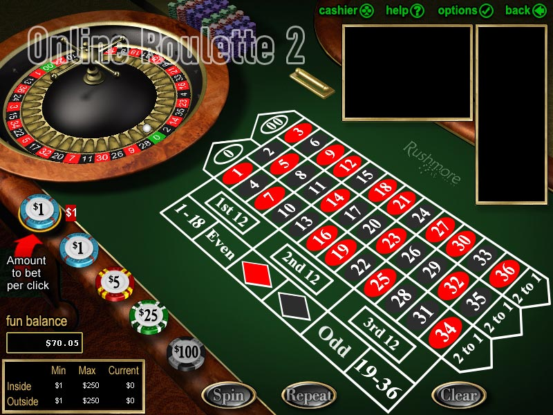 casino online free bonus play roulette now